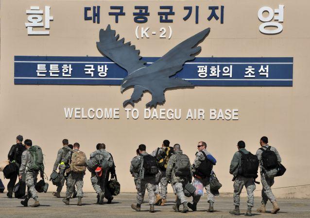 美国空军基地在韩国