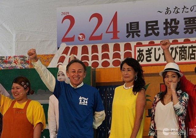 冲绳公投:72.2%的人反对美军新机场