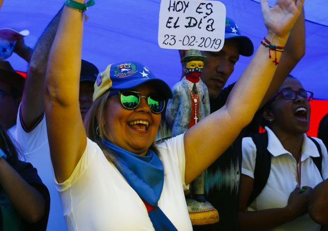 委内瑞拉警方:加拉加斯反对派游行活动和平结束