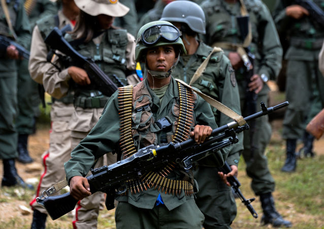 委内瑞拉军人