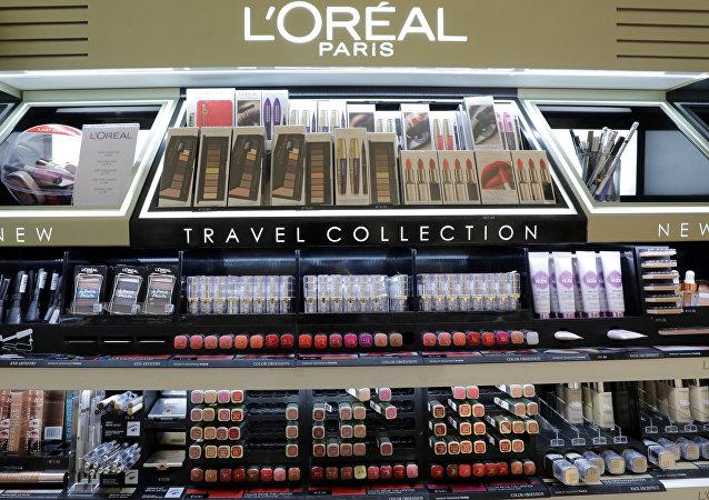 法国的化妆品
