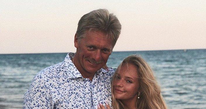 佩斯科夫解释自己女儿在欧洲议会实习一事