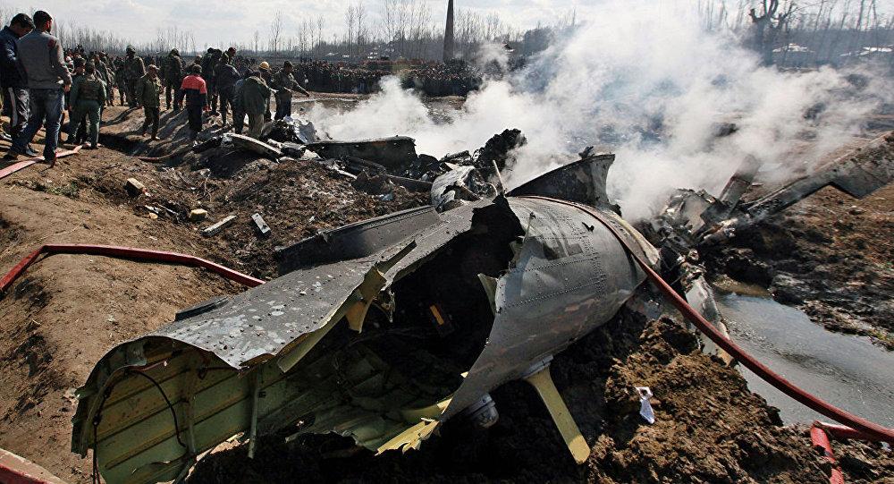 印度空军一架直升机在该国北部坠毁已导致7人死亡
