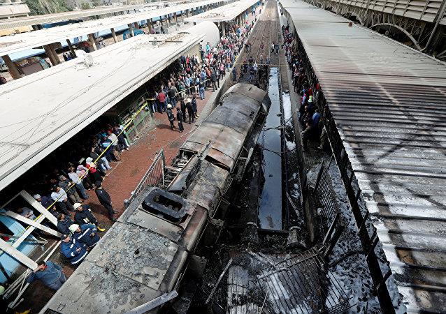开罗拉美西斯火车站事件六名涉嫌人被拘捕
