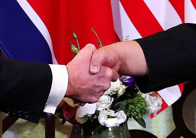 朝鲜外交官乐观看待朝美工作会谈前景