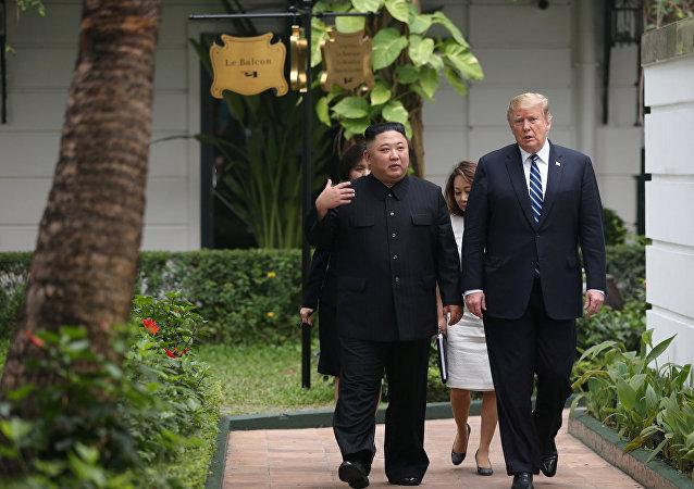 媒体:特朗普在河内峰会期间呼吁金正恩向美国交出核武器