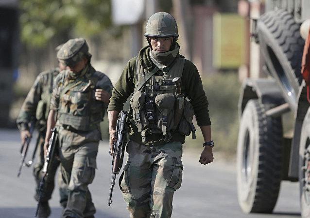 印军在克什米尔