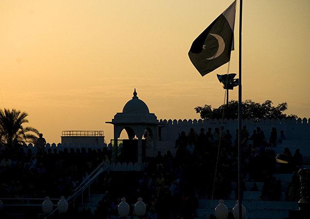 Закат в Пакистане
