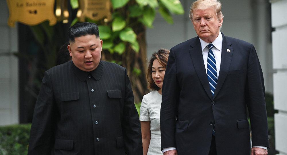 韩国认为朝美领导人会晤标志两国敌对状态结束