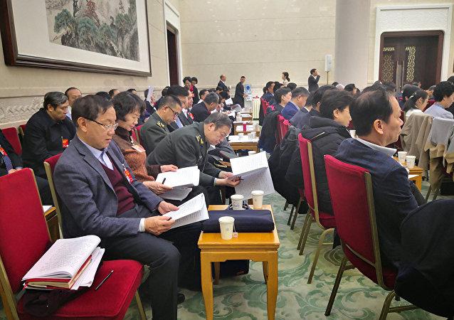 媒体:中国拟修改选举法 适当增加基层人大代表数量