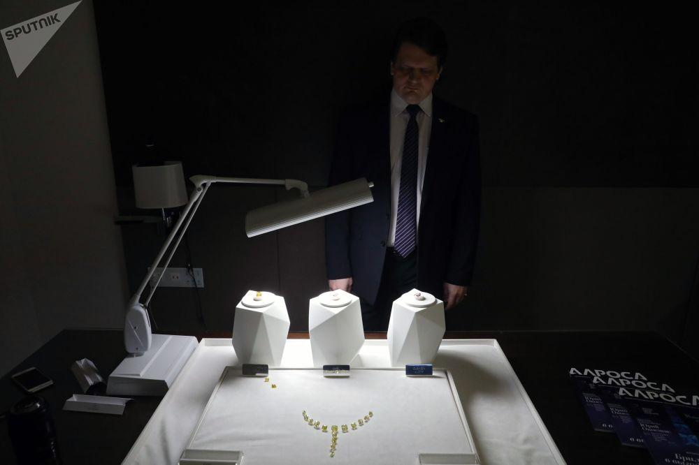 埃罗莎公司钻石展