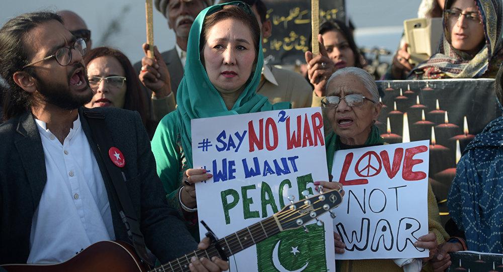 巴基斯坦居民关于和平的海报