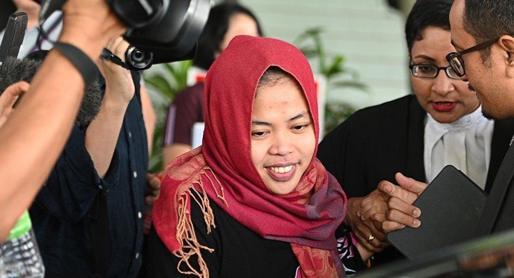 印尼女子席蒂艾沙(Siti Aisyah)