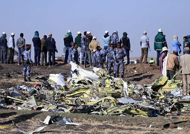 美媒:埃航坠机事故中遇难的飞行员遵循事故操作手册