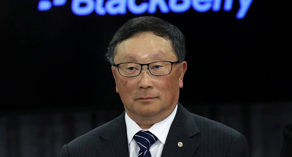 黑莓首席执行官约翰·陈