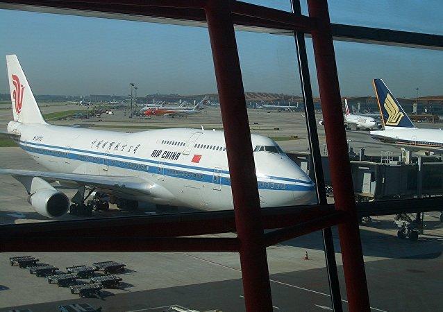 中国国航客机