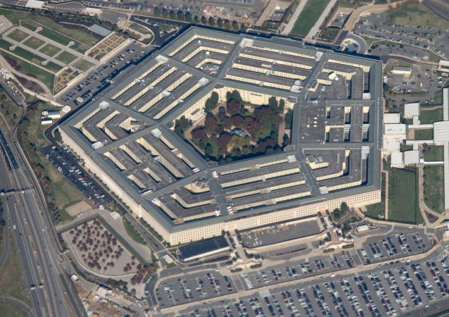 Вид на здание Пентагона в Вашингтоне, США