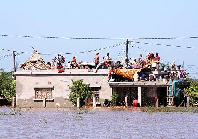 莫桑比克洪灾造成至少66人死亡