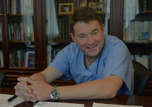 俄罗斯卫生部编外肿瘤主任科学家、俄国家放射医学研究中心主任、俄科学院院士安德烈·卡普林