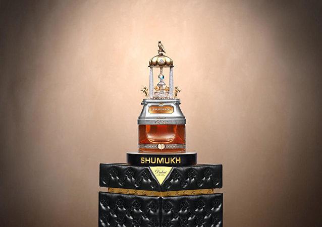 世界上最昂贵的香水在迪拜亮相