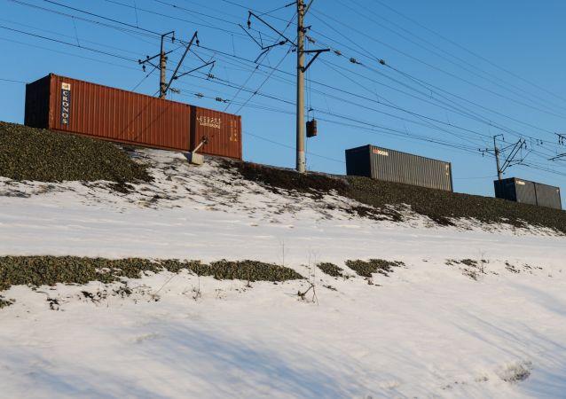 集装箱列车