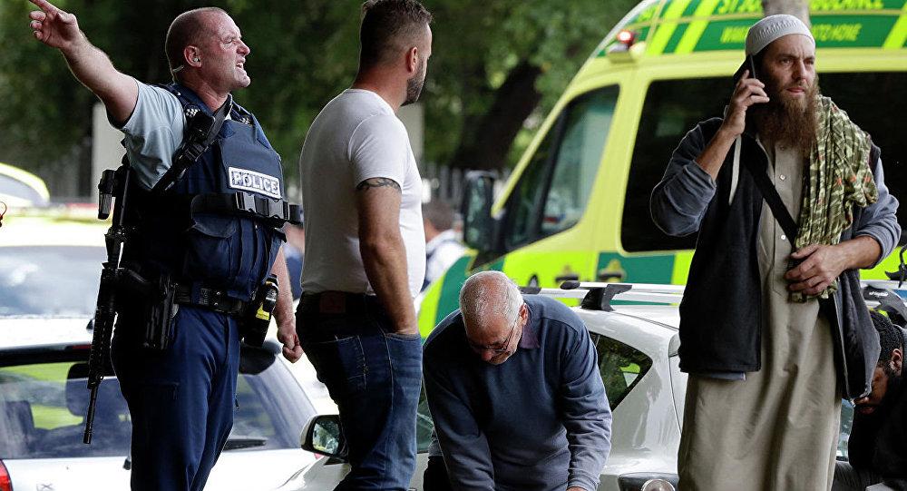 新西兰清真寺枪击案肇事者为一名极右派澳大利亚人