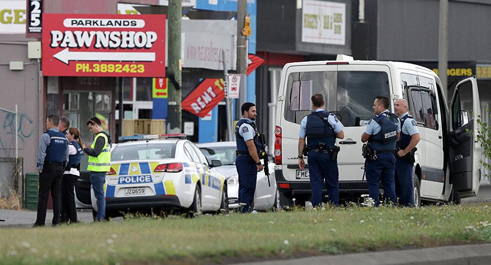 新西兰警方为调查枪击事件封锁但尼丁市区
