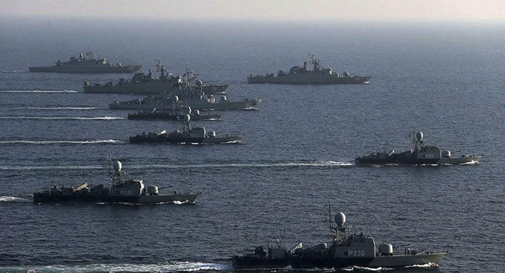 伊朗海军演习