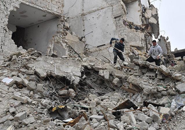 叙利亚阿勒颇(资料图片)