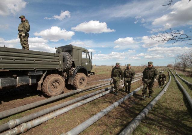 克里米亚将就乌克兰切断水源问题向联合国发出正式呼吁