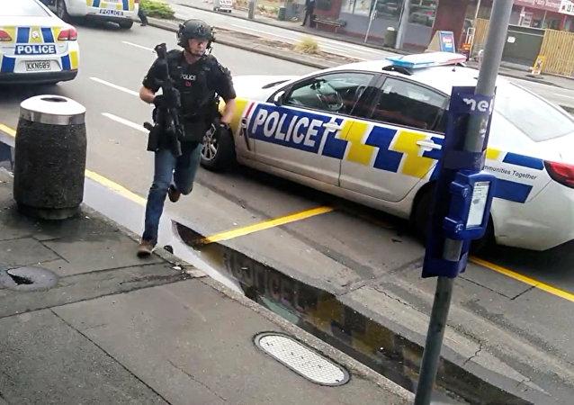 新西兰一超市发生持刀袭击事件造成五人受伤