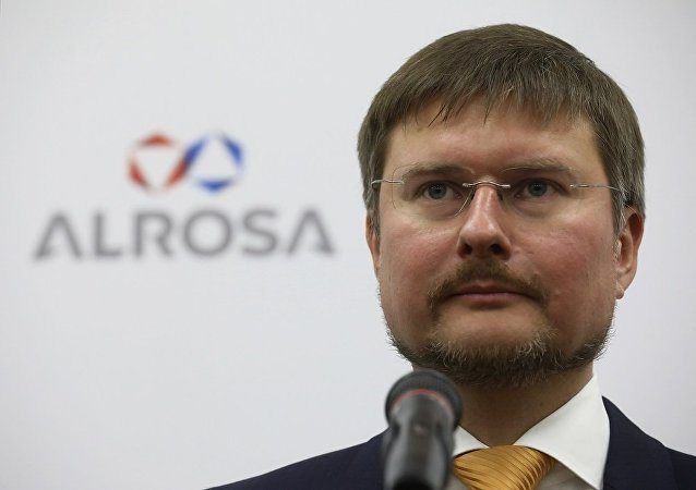俄罗斯钻石开采龙头企业阿尔罗萨公司总经理谢尔盖∙伊万诺夫
