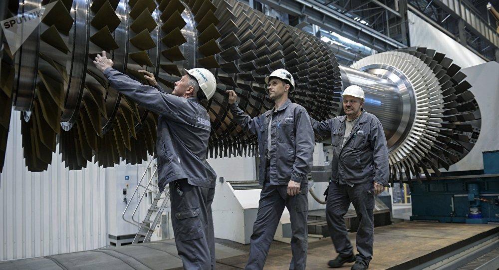 俄罗斯将首次启动大功率燃气轮机量产工作