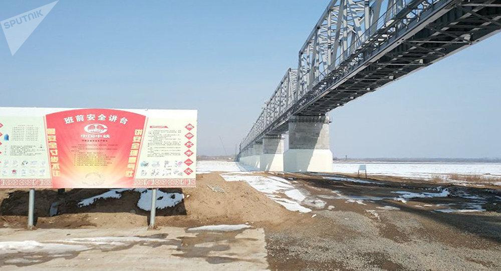 同江中俄铁路大桥