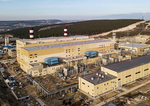 热电厂在克里米亚