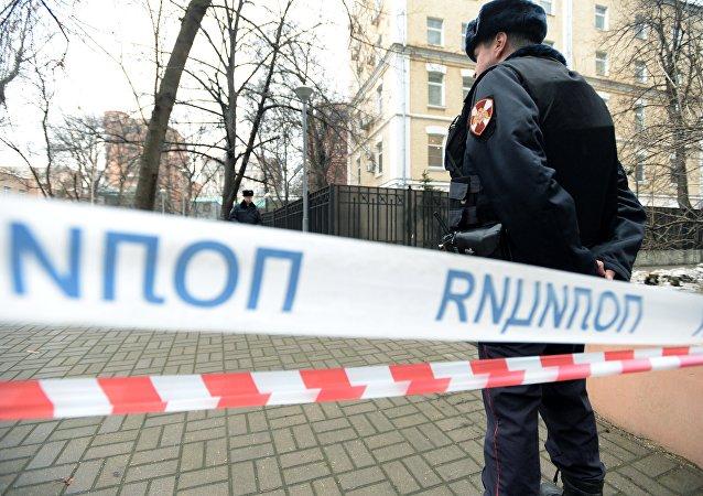 一男子在莫斯科市中心自杀身亡