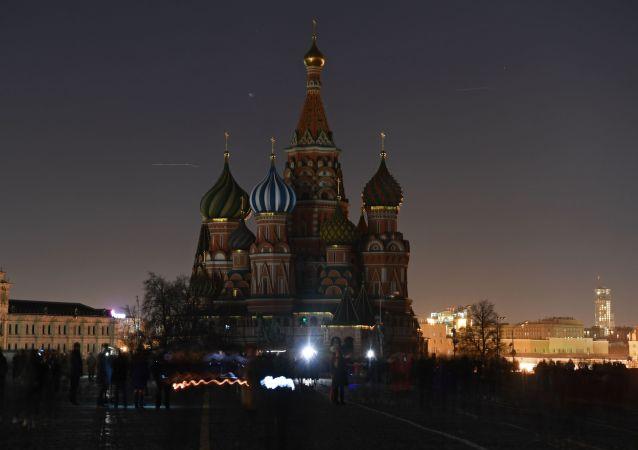 """莫斯科2千多座建筑将在""""地球一小时""""活动期间熄灯节能"""