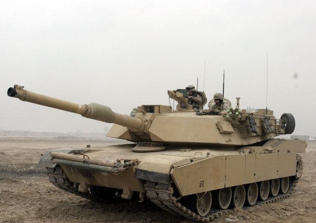 """M1""""艾布拉姆斯""""坦克"""