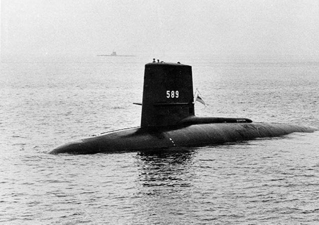 Атомная подводная лодка ВМС США USS Scorpion, 1960
