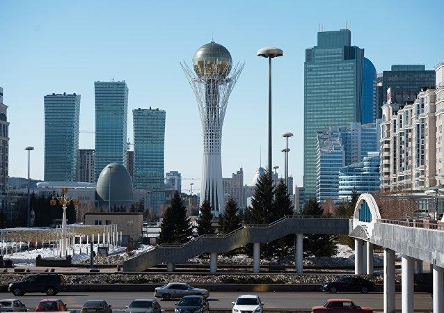 哈萨克斯坦首都努尔苏丹