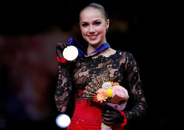 扎吉托娃力夺世锦赛金牌
