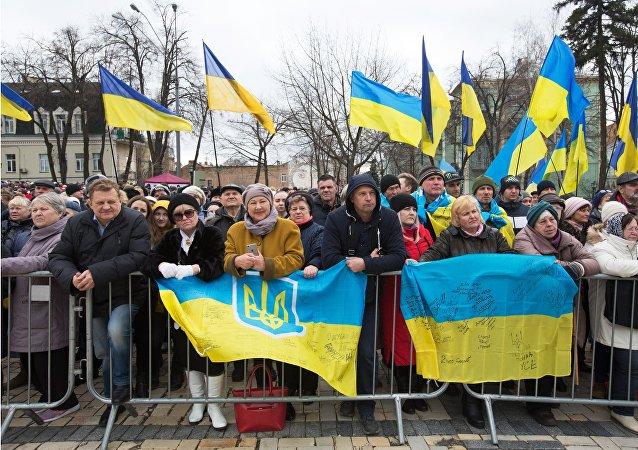 大部分乌克兰人不后悔苏联解体
