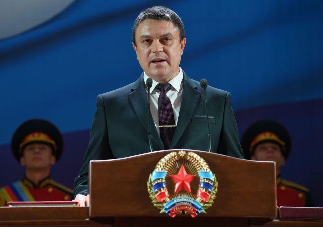 卢甘斯克领导人:顿巴斯冲突处于加剧阶段 基辅正在撕毁协议