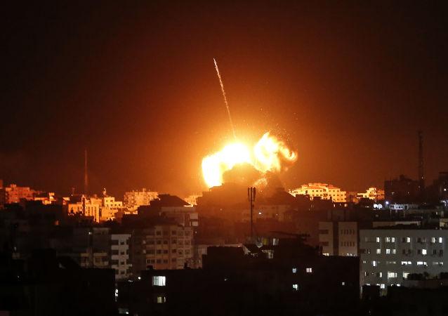 以色列空袭加沙地带