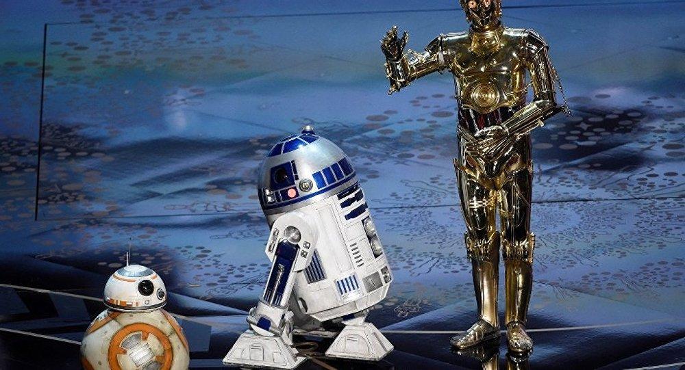 德国教授将天学台漆成星战机器人