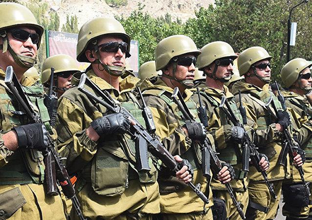 俄军500名士兵将在塔吉克斯坦进行山地训练