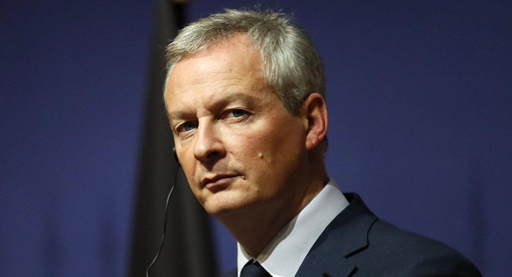 法国经济与财政部部长布鲁诺∙勒梅尔