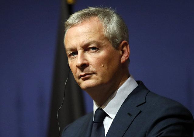 法国财政部长布鲁诺·勒梅尔