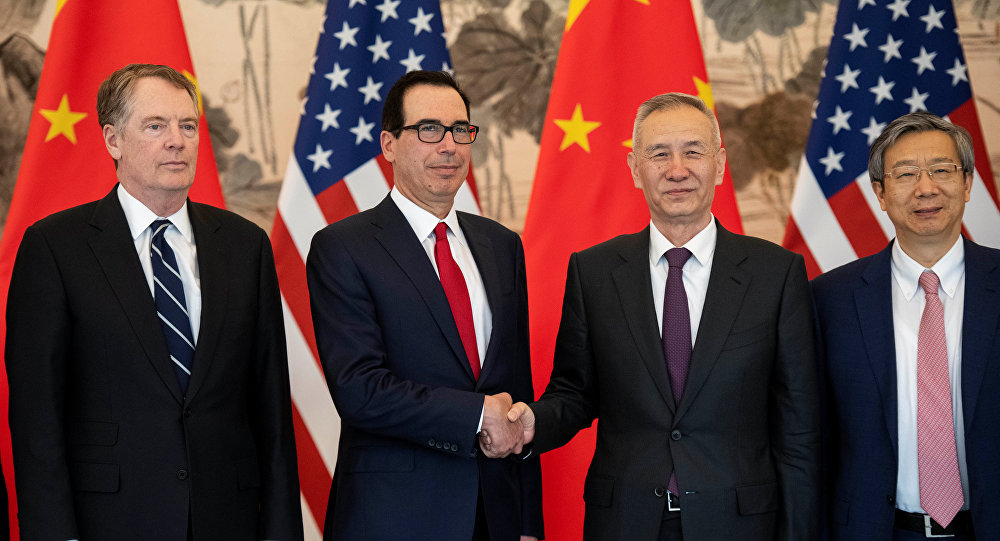 中国和美国准备停止贸易战