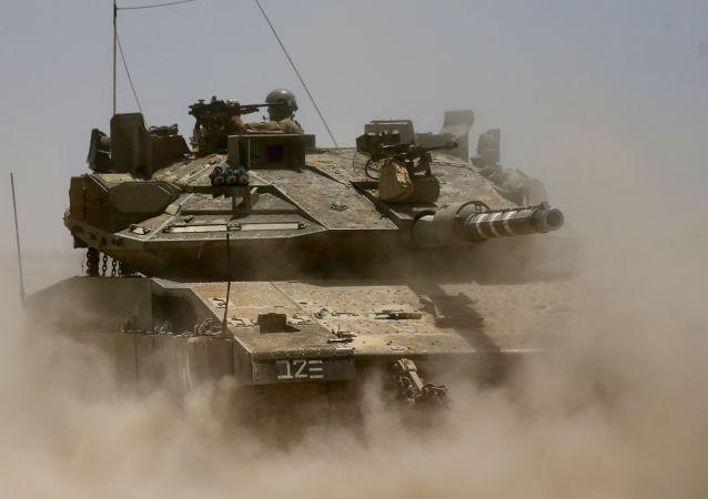 以色列军队坦克